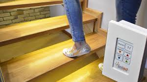 intelligent stairs driver stairs lighting illumination stairs light controller scr 2 youtube automatic led stair lighting