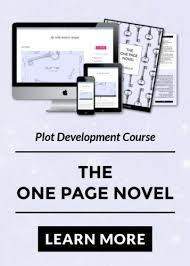 Story Outline Template Online The One Page Novel Plot Formula Creative Writing