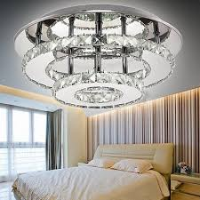 modern crystal pendant light ceiling lamp chandelier living dining room lighting