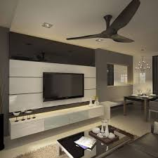 Tv And Feature Wall Design Carpenter Guru Gallery Including Panel Images  Black White
