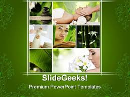 photo collage template powerpoint spa collage health powerpoint templates and powerpoint backgrounds