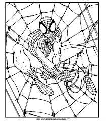 Disegni Spiderman Da Colorare Con Disegni Di Spiderman Da Colorare