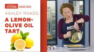 Learn to Make Lemon Olive Oil Tart with Ashley - YouTube