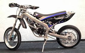 electric super motard motorcycle