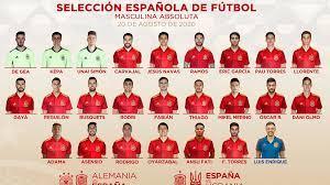 สเปนแบโผ 24 แข้ง ลุยเนชันส์ลีกเดือนหน้า