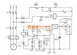 motor thermistor wiring diagram impremedia net Furnace Blower Motor Wiring Diagram the motor overheating and influent protection circuit