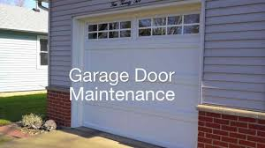 garage door maintenanceGarage Door Maintenance  YouTube