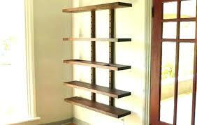 wall mounted shelves open wall shelves open wall shelving wall mounted shelves and desk open metal