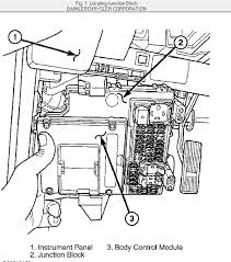 jeep liberty fuse box the manual says its behind the glove box