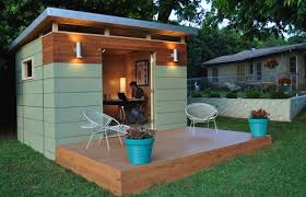 Small Picture Backyard Offices 8 Modern Prefab Sheds Apartment Therapy