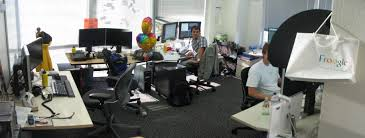 google office furniture. Office Of Google. Desk Configuration 1 Google Furniture D