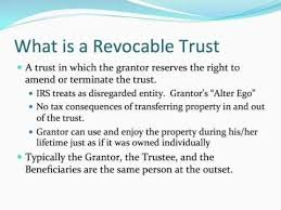 Revocable Trusts: What Are They and How Do They Work? - YouTube