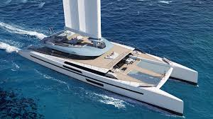Vplp Design Reveals Wingsail Yacht Concept Evidence Boat