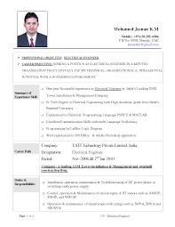 Resume Electrical Engineer Electrical Engineer Resume 24 Vinodomia Shalomhouseus 15