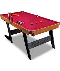hy pro 6ft folding snooker and pool table at argos co uk