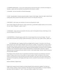 Creative Writing Terminologies