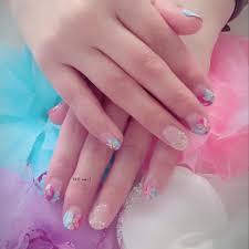 At Akoymk Ako Nail Flower フラワーネイル