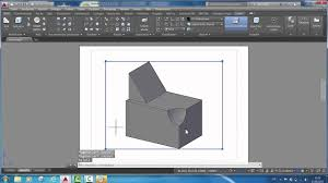 A power guide this book is intended to help engineers, designers, and cad operators interested in learning autocad for creating engineering and architectural 2d drawings. Autocad 2015 2d Zeichnungen Aus 3d Volumenkopern 01 Youtube