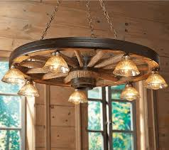 brilliant wagon wheel chandelier made with mason jars within wagon wheel chandelier renovation