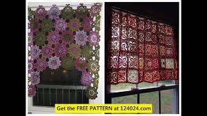 Free Crochet Curtain Patterns Magnificent Decoration
