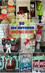30 DIY Outdoor Christmas Decorations Ideas 2017