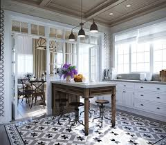 Tile Patterns For Kitchen Floors Black Pendant Lamps And Antique Floor Tile Patterns For Special
