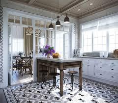 Kitchen Floor Tile Patterns Black Pendant Lamps And Antique Floor Tile Patterns For Special