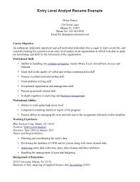 resumes entry level anuvrat info entry level resume example entry level accounting resume sample