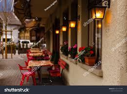 Light Street Cafe Penang Street Cafe Evening Stock Photo Edit Now 1021171348