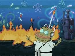 spongebob exploding gif. Wonderful Gif Fuck The World To Spongebob Exploding Gif N