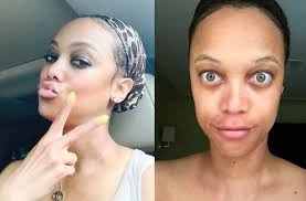 tyra banks without make up