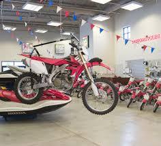 Hoist-A-Bike MX Motorcycle With Electric Hoist