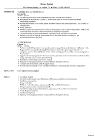 Hvac Resume Examples Prepossessing Hvac Student Resume Examples For Refrigeration And 76