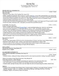 Resume Kevin Xu The Copy Writer