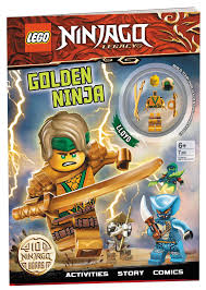 LEGO(R) NINJAGO(R): Golden Ninja | Book by AMEET Publishing | Official  Publisher Page