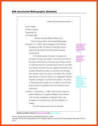 sample annotated bibliography apa program format sample annotated bibliography apa 21 cover letter template