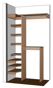 inexpensive closet