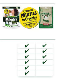 Minties Dental Treats Dog Dental Chews Vetiq