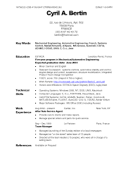 parts of a resume best template collection parts of a resume