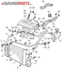 saab 900 se engine diagram saab wiring diagrams