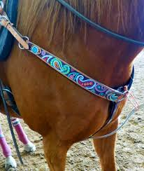 Light Up Horse Breast Collar Pin On Tack