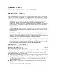Mba Resume Samples Template Harvard Business School Resumes For