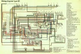 porsche 911 wiring diagram 912 factory color electrical drawing porsche cayenne wiring diagrams early 911 911s factory color coded electrical wiring diagrams rh forums pelicanparts com 911 porsche wiring diagrams 1991 911 porsche wiring diagrams 1991