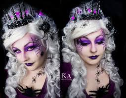 spider queen makeup with tutorial by katiealves