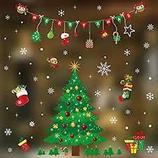 Details Zu Fensterbilder Für Weihnachten Fensterdeko Fenster Aufkleber Schneeflocke Deko