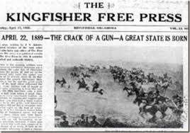 Image result for Land Rush 1889