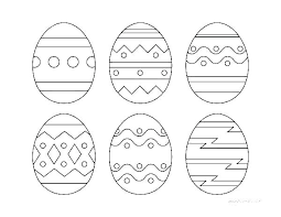 Easter Egg Printable Coloring Pages Easter Egg Printable Coloring