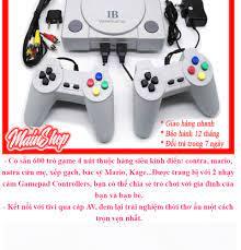 TRỞ VỀ TUỔI THƠ) Máy chơi game 4 nút NES 600 trò -Doanh Số Bán Chạy