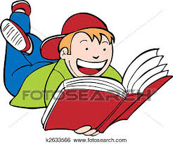 child reading book kid isolated on a white background