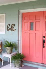 loving these bright front doors so easy to make a statement with bold front door